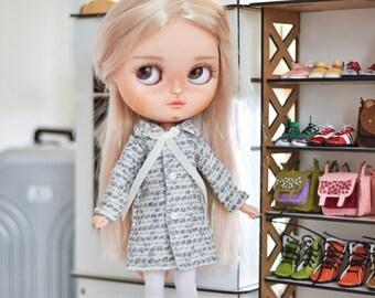 Blythe doll coat / jacket  by BlablaBlythe