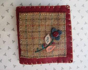 Needle Book/Handmade Needle Holder/Wool Needle Book
