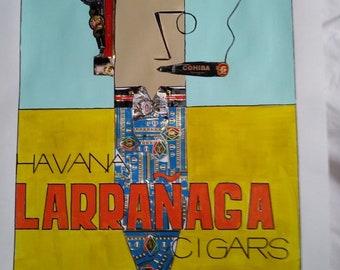 Larranaga Vintage Cigar Poster