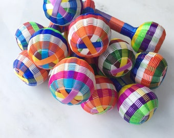 Mexican Baby Rattle - Multicoloured