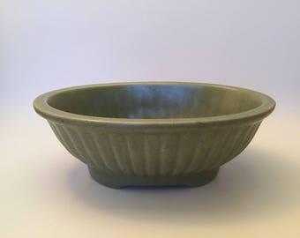 VINTAGE 1950's Green Planter Haeger Pottery 3938A U.S.A.