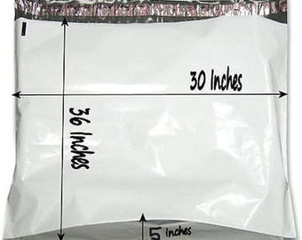 10  30x36x5 Large Poly Mailer Plastic Shipping Bag Envelopes Polybag Polymailer