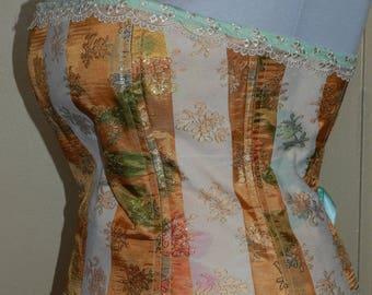 corset evening sexy baroque ceremony