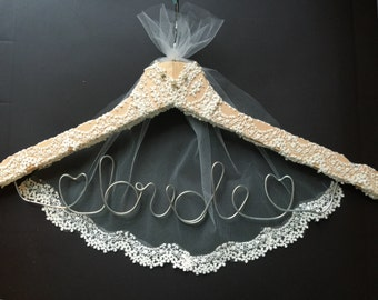 Handmade Wedding  Hanger Bridal Hanger