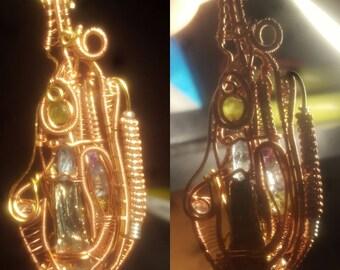 Handmade Wirewrapped Pendant