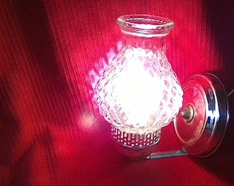 Electric Wall Sconce, Vintage lighting,  cabin decor, lamp