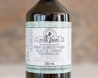Hemp Oil for Painted or Wood Furniture | Miss Mustard Seed's Milk Paint - Two Sizes Available