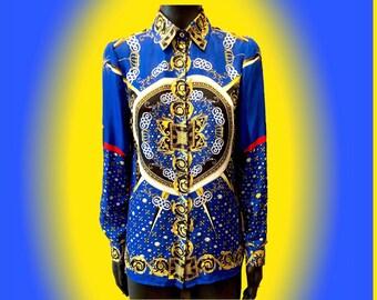 VERSACE COLLECTION Silk Shirt