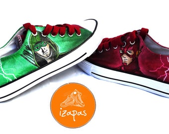 Flash and Arrow Shoes Sneakers