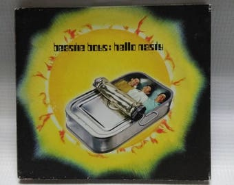beastie boys: hello nasty cd
