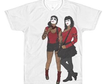 Men's - The Warriors - Hi-Hats, All-Over Printed T-Shirt