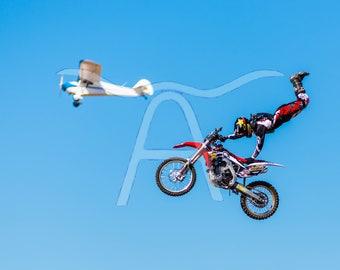 Soar! Aviation / Motocross Photographic Print