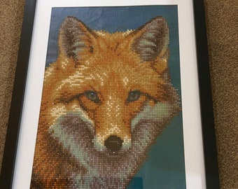 Fantastic fox diamond painting.