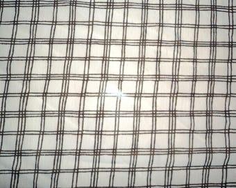 coupon chiffon black and white checkered pattern