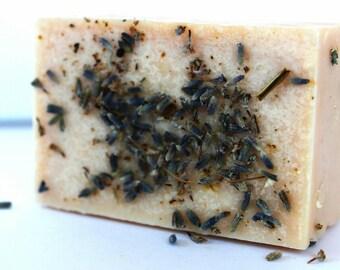 Lavender. Homemade soap. Vegan soap. Cold Process soap. Organic soap. Handmade soap. Coconut Oil. Soap bar.