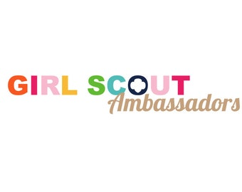 Personalized Girl Scout Ambassadors Troop Logo