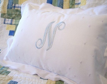 Monogrammed Baby Pillow - CUSTOM