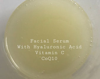 Firming Facial Serum/Hyaluronic Acid/CoQ10/Vitamin C/ 1oz