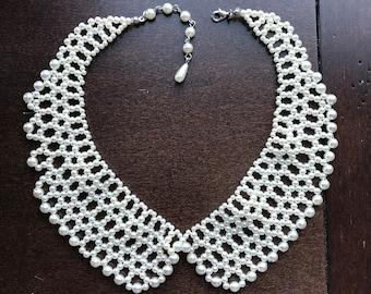 Pearl Peter Pan Collar Necklace