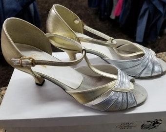Coast Ballroom Dances Shoes - Jasmine  Sz. 7 1/2