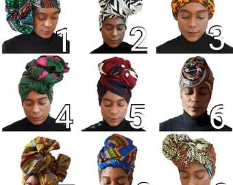 Ankara Head Wrap  Kente Head Wrap African Head Wrap Kente Head Wrap African Head Scarf Head Band Yoga Scarf Ankara Head Tie Hijab