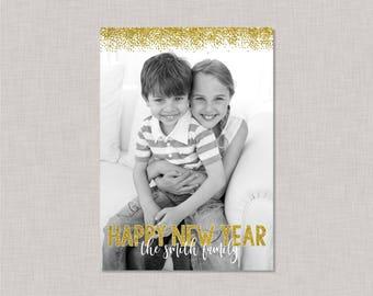 New Year Card Photo,New Year Card 2018,New Year Card Printable,Happy New Year Card,Happy New Year Card Photo,Printable New Years Cards,2018