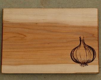 Onion Cutting Board