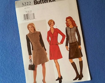 Misses'/Misses' Petite Top and Skirt - Uncut Butterick Sewing Pattern - 3222 - size 8 10 12