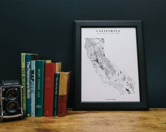 California State River Map