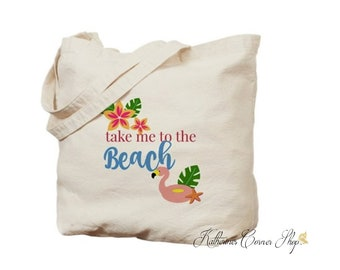 Take Me To The Beach Tote Bag