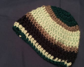 Handmade crocheted Newborn hat