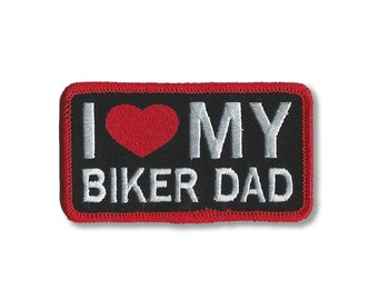 EMBROIDERED PATCH, for Baby or Kid Leather Vest, Patches, Embroidery Biker  Patches,
