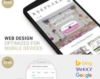 Custom WordPress Web Design   Fully Responsive & Modern Website/Blog Design for WordPress