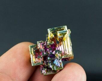 Rainbow Bismuth Plateau Specimen