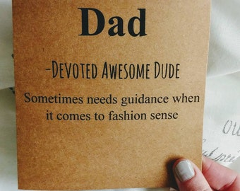 Fathers Day Definition Card