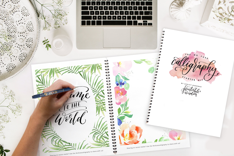 Calligraphy starter kit printable wisdom learn