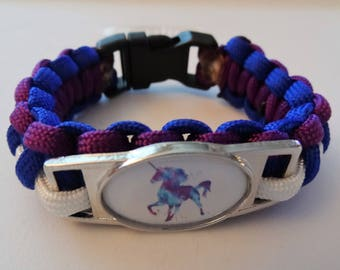 Unicorn Paracord Bracelet