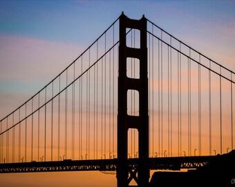 20x20 Golden Gate Bridge Print