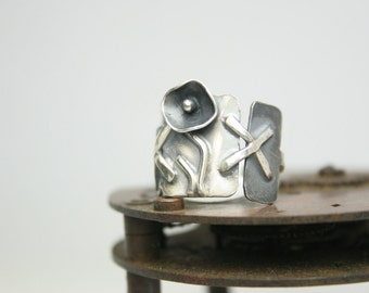 Sterling Silver Ring - Handmade