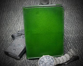 Field Notes Leather Cover. RFID Shielded. Custom hand made. Rite in Rain, Molon Labe, III%