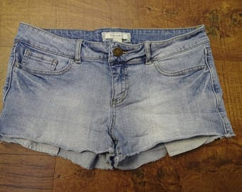 Forever 21 acid wash jean shorts