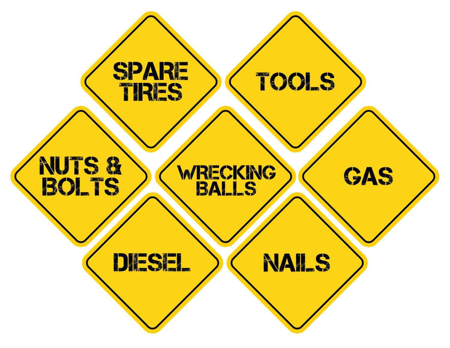 This is a photo of Bewitching Construction Signs Printable