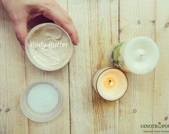 Body Butter_Olive, Marjoram & Shea Butter - Butter, Body Lotion, Body Care, Mothers Day Gift, Body, Body Cream, Body Moisturizer