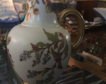 1880's Royal Worcester #1094 Gilded Pitcher