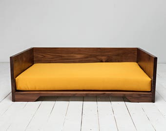 The Frye Dog Bed - Walnut