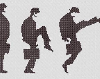 PATTERN: Monty Python Ministry of Silly Walks