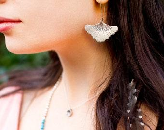 Fairy Fan-Flower Earrings