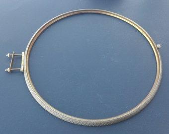 Vintage / Antique Hermle Brass Mantel Clock Bezel / Clock Repair / Clock Parts / Supplies
