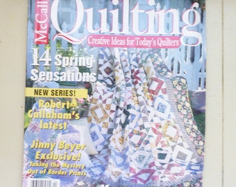 McCall's Quilting, quilting magazine, quilt pattern, patchwork quilts, applique quilts, magazine, patterns