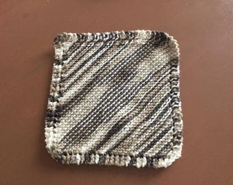 Knitted dishcloth cotton cloth, dishes, eco-friendly cloth MOP.
